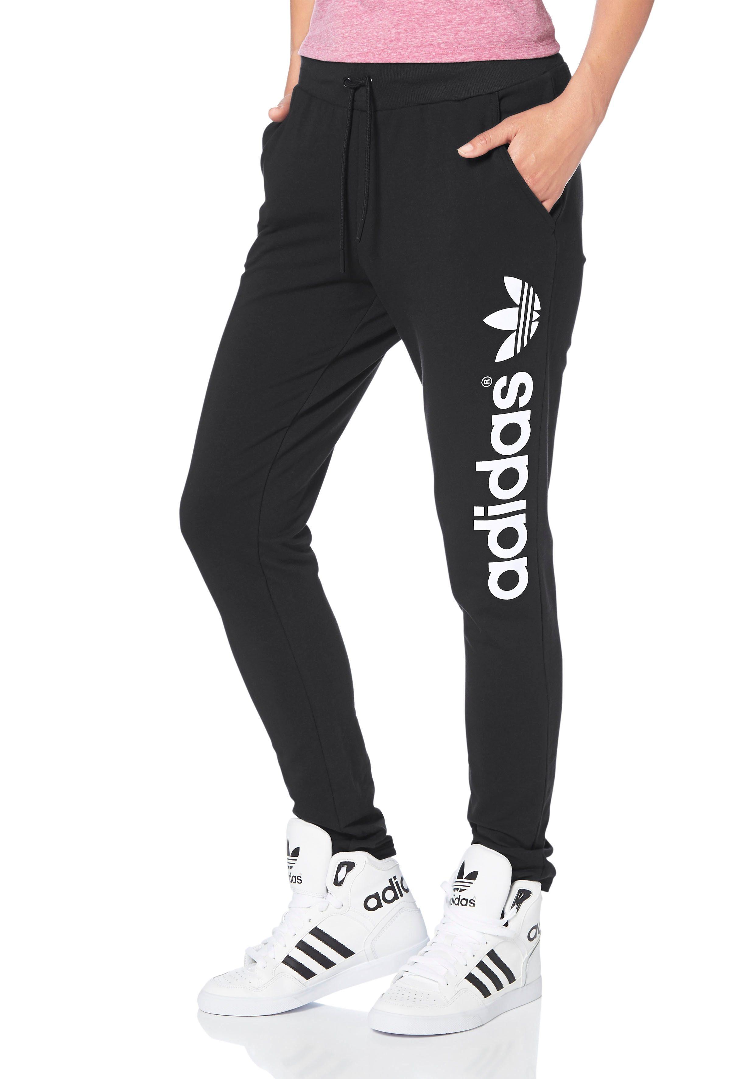 adidas jogging hose schwarz