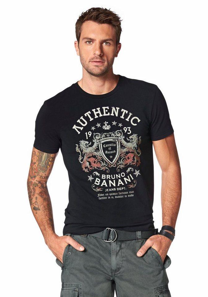 Bruno Banani T-Shirt in schwarz