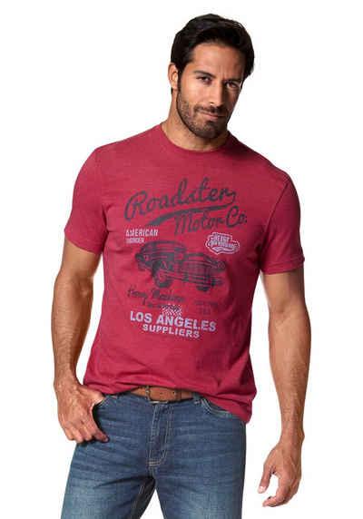 Arizona T-Shirt mit Print in Vintage Optik