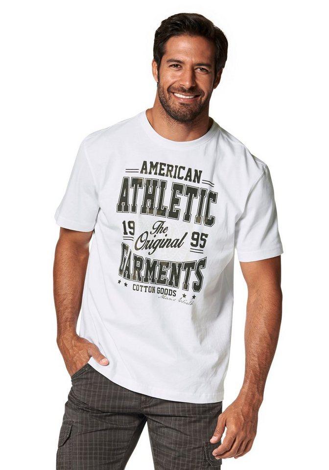 Man's World T-Shirt in weiß