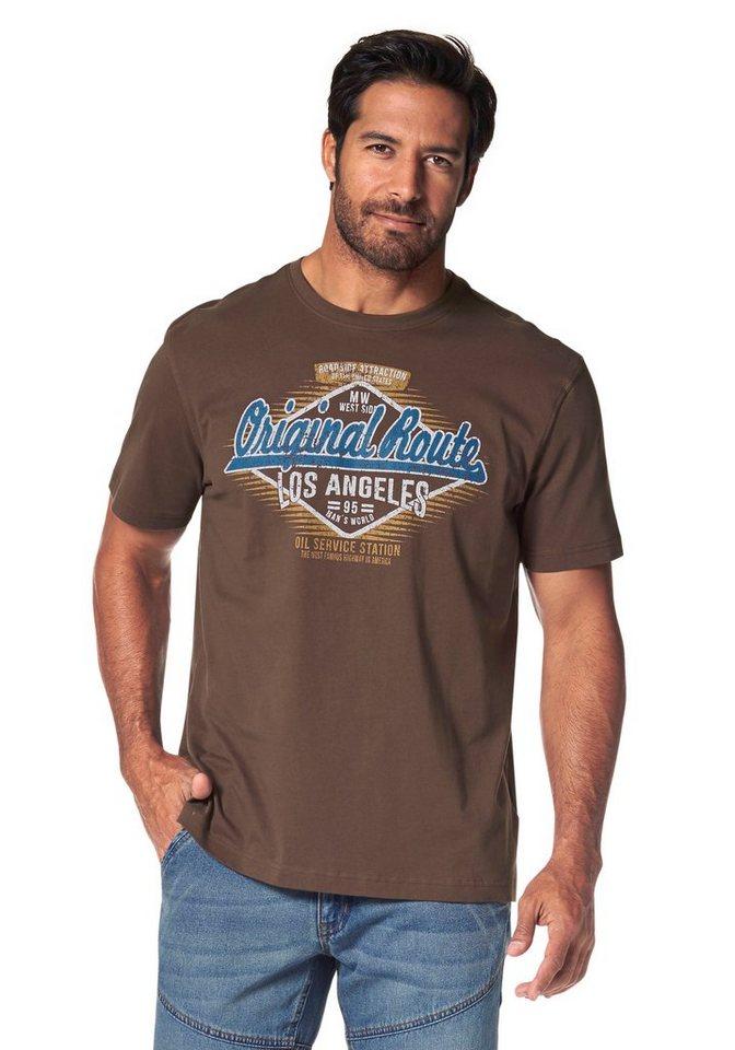 Man's World T-Shirt in braun