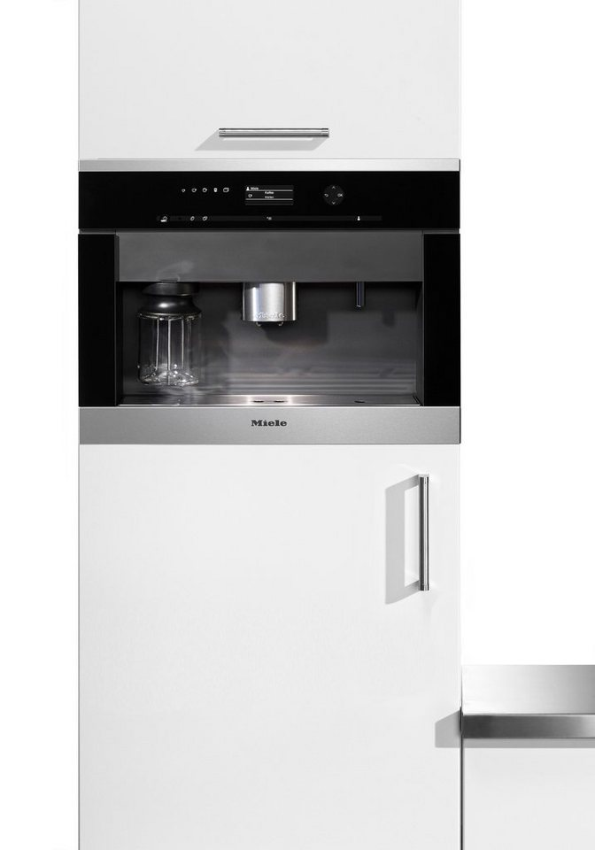 miele einbau kaffeevollautomat cva 6405 mit festwasseranschluss integrierter milchtank 15bar. Black Bedroom Furniture Sets. Home Design Ideas