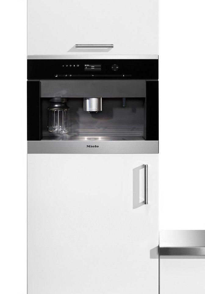 Kaffeevollautomat Wasseranschluss miele einbau kaffeevollautomaten cva 6405 2 3l tank kegelmahlwerk