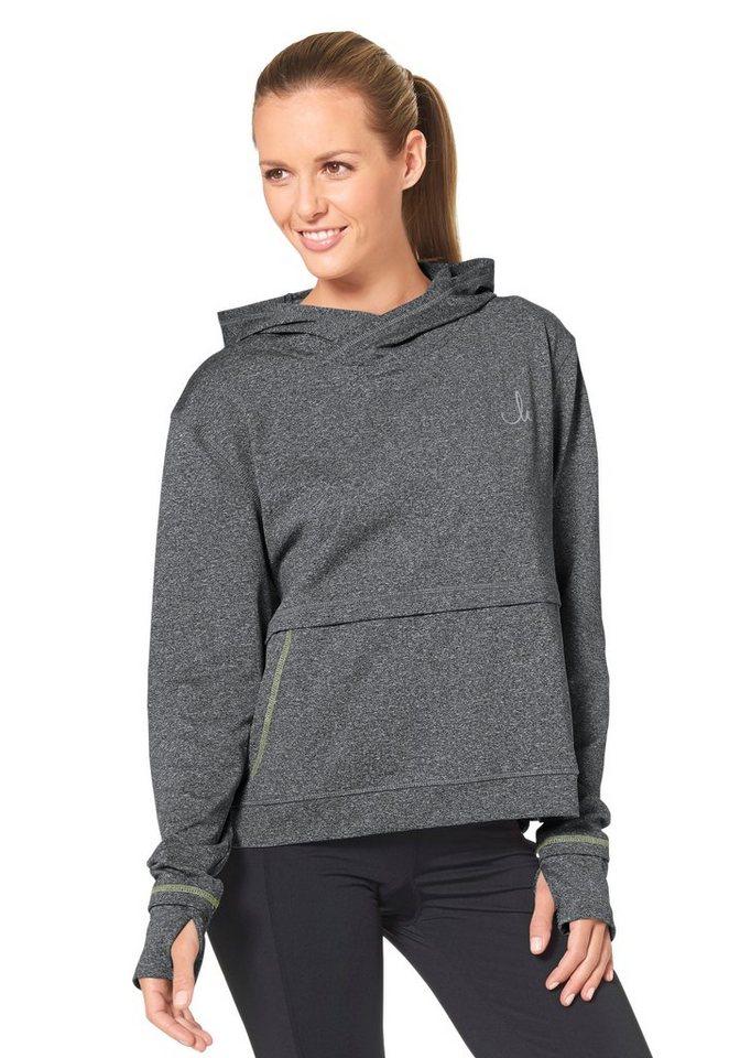 Maria Höfl-Riesch Sweatshirt in Grau-Meliert