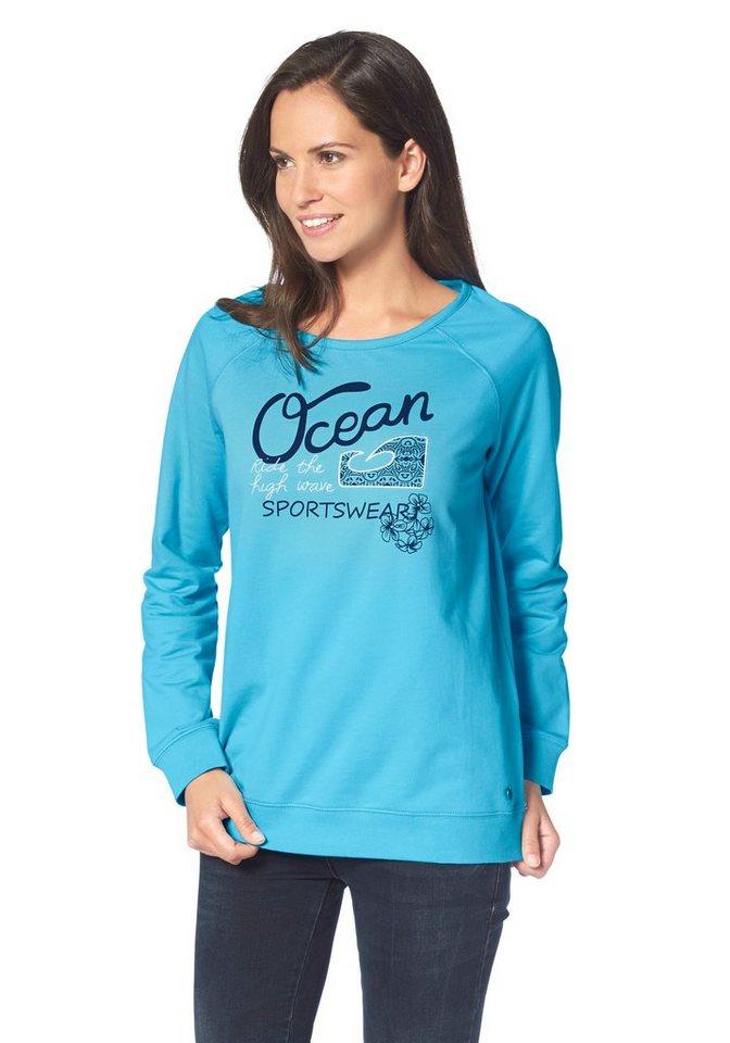 Ocean Sportswear Sweatshirt in Türkis