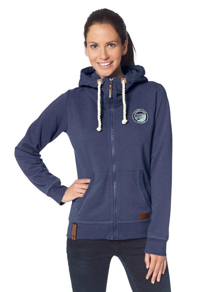 Ocean Sportswear Kapuzensweatjacke in blau