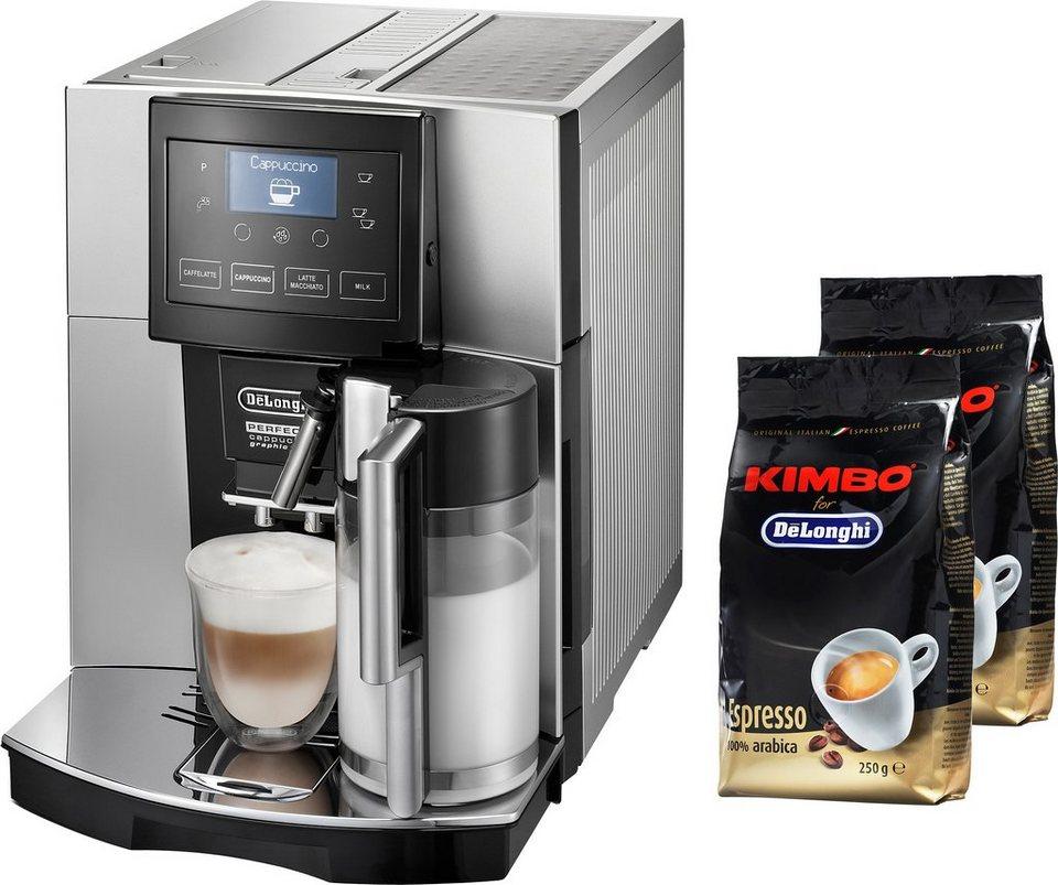 De'Longhi Kaffeevollautomat »Perfecta ESAM 5708« in silber