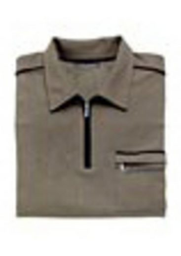 Catamaran Kurzarm-Poloshirt mit kontrastfarbigen Akzenten