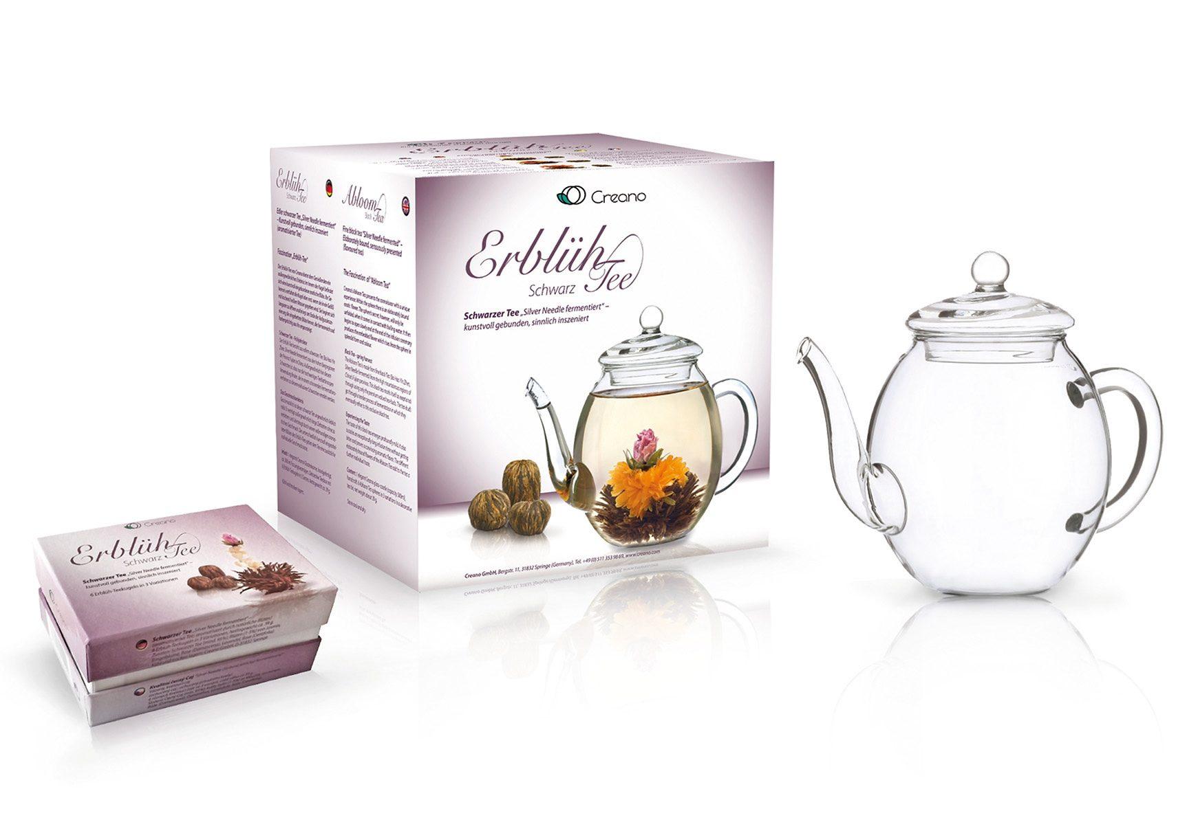 Creano Erblüh-Tee, »Schwarzer Tee«