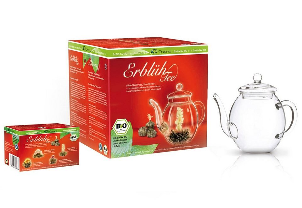 Creano Erblüh-Tee BIO, »Weißer Tee«