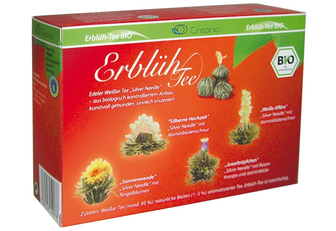 Creano Erblüh-Tee, »Weißer Tee« (8 Stck.)