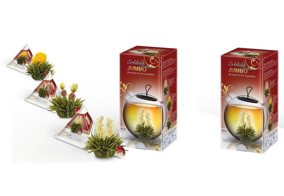 Creano Teebox JUMBO Teelini, »Weißer Tee« in bunt
