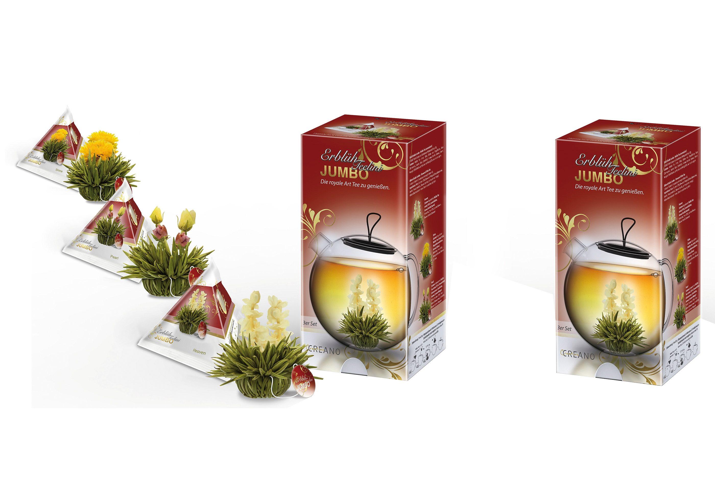 Creano Teebox JUMBO Teelini, »Weißer Tee«