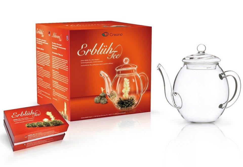 Creano Erblüh-Tee Geschenk-Set, »Weißer Tee« | OTTO