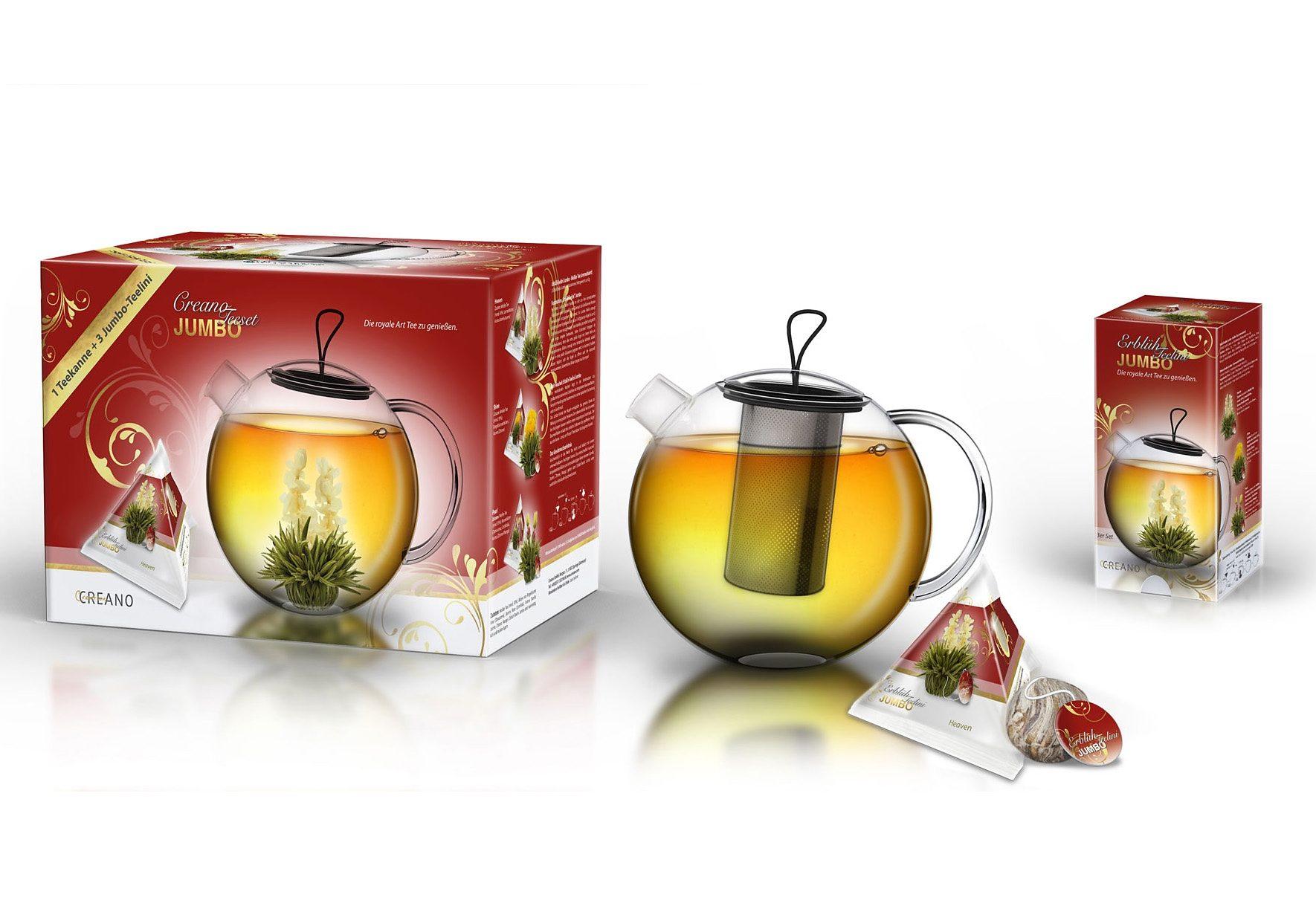 Creano Erblüh-Teelini JUMBO, »Weißer Tee«