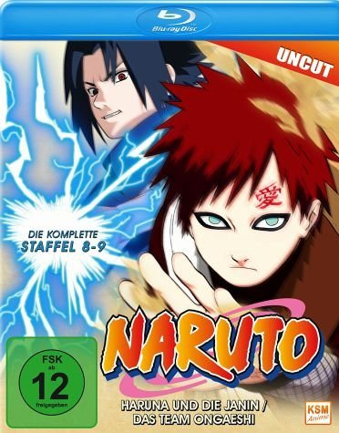 Blu-ray »Naruto - Die komplette Staffel 8 und 9 (Flg...«