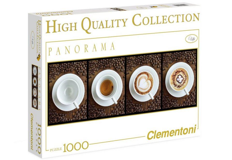 Clementoni Panorma-Puzzle, 1000 Teile, »Cafè«