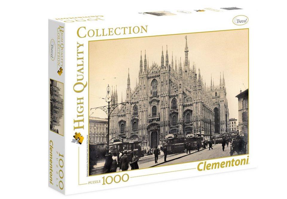 Clementoni Puzzle, 1000 Teile, »Mailand 1910-1915«