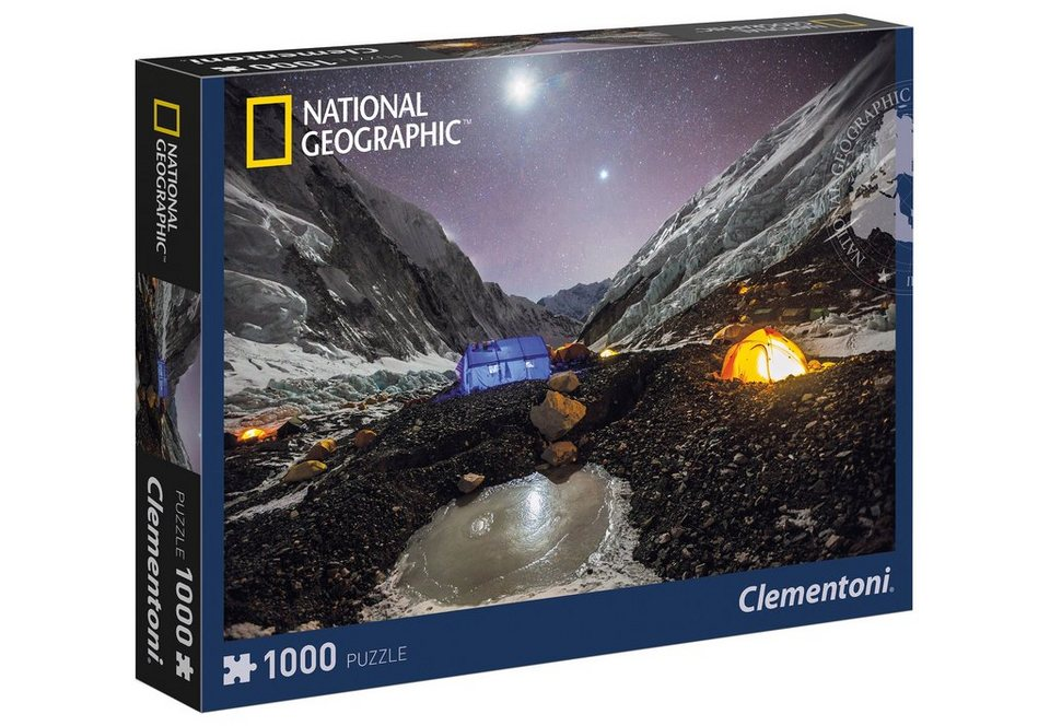 Clementoni Puzzle, 1000 Teile, »National Geographic - Everest Camp«