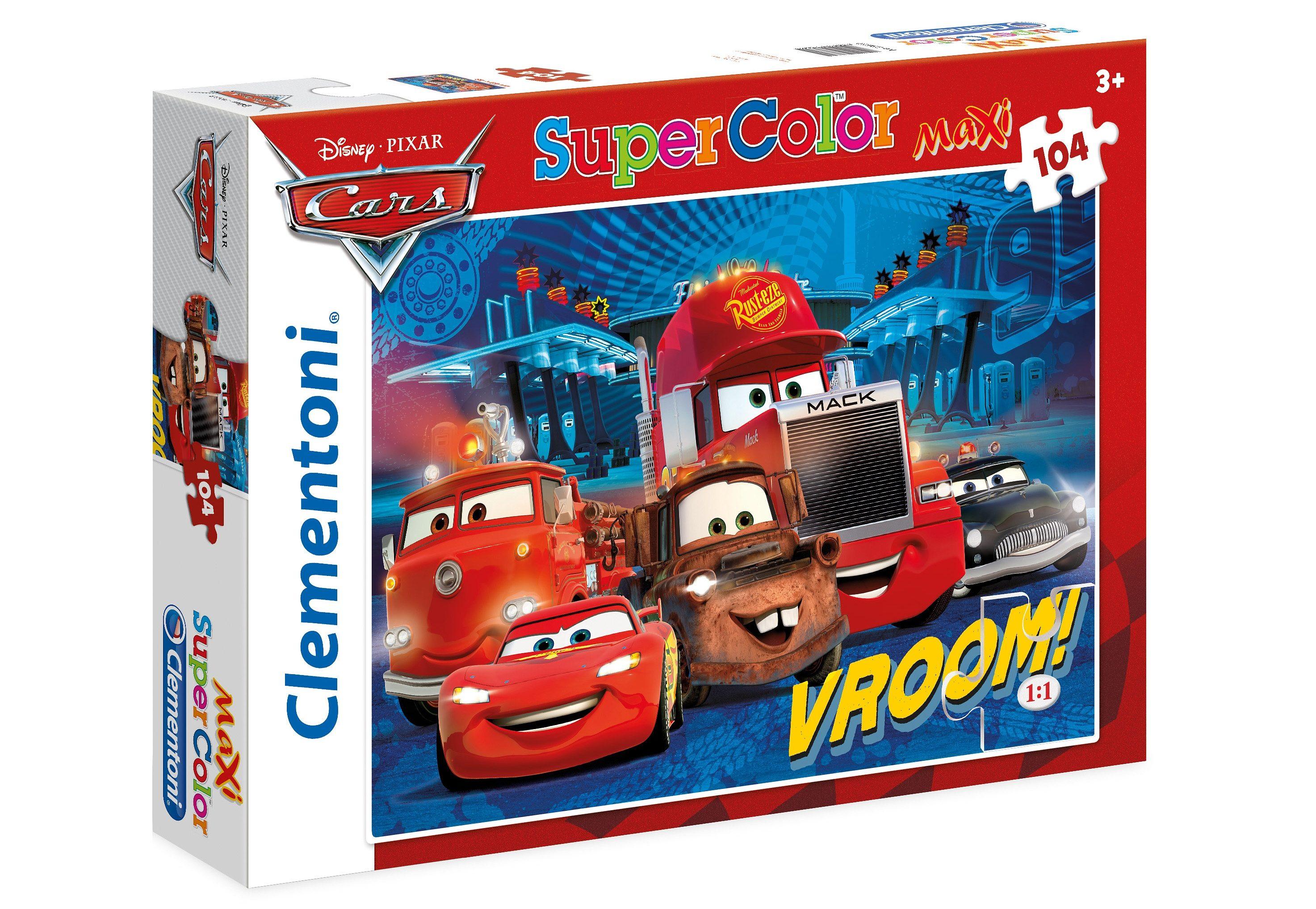 Clementoni Puzzle, 104 Teile, »Disney Cars«