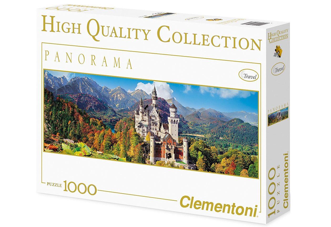 Clementoni Panorama-Puzzle, 1000 Teile, »Neuschwanstein«