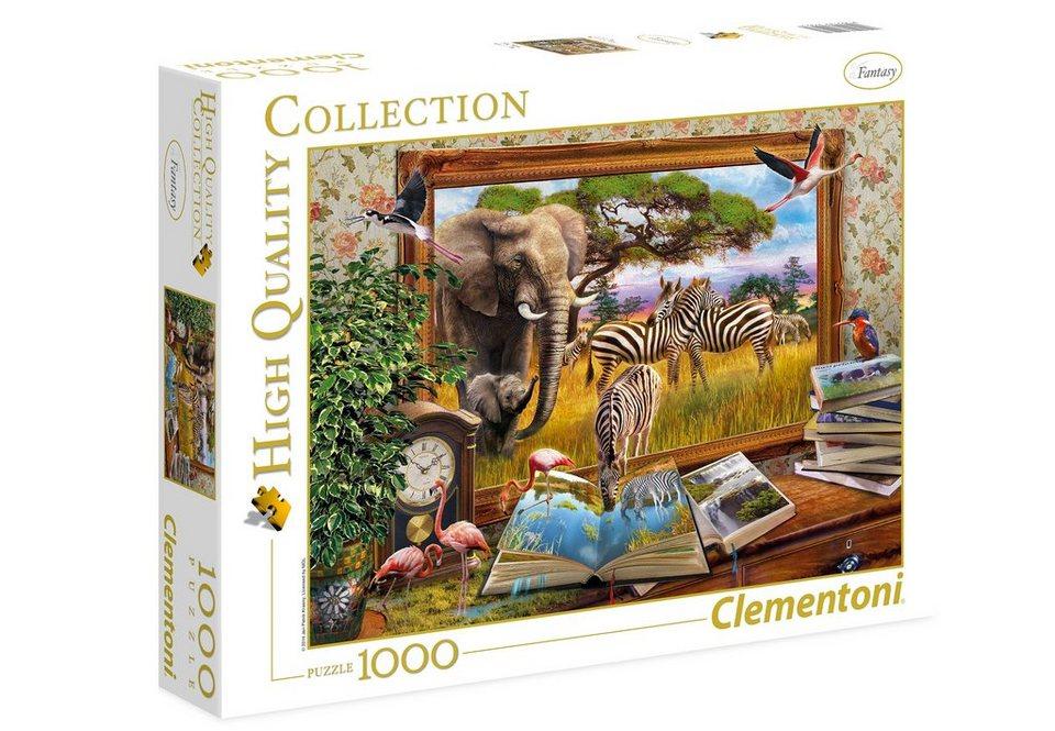 Clementoni Puzzle, 1000 Teile, »Zum Leben erwacht«