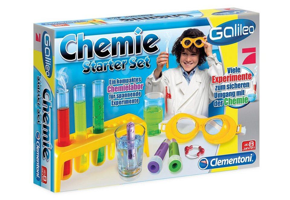 Clementoni Experimentier-Set, »Galileo - Chemie Starter Set«