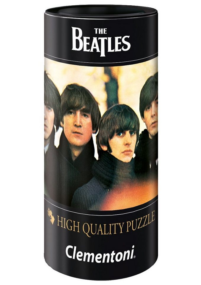 Clementoni Puzzle in Geschenkdose, 500 Teile, »The Beatles, Eight Days a Week«