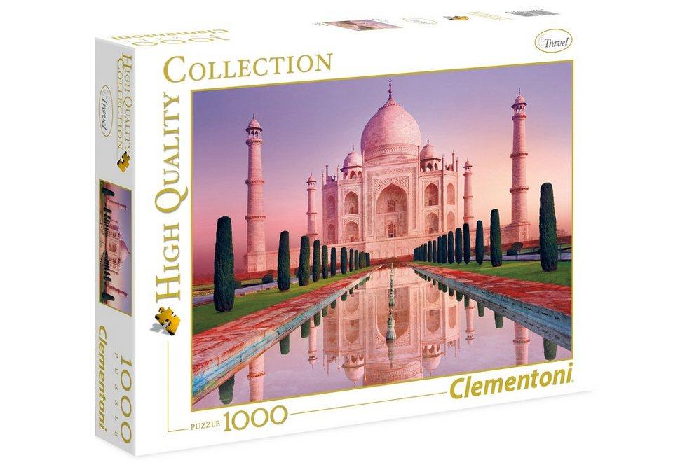 Clementoni Puzzle, 1000 Teile, »Taj Mahal«