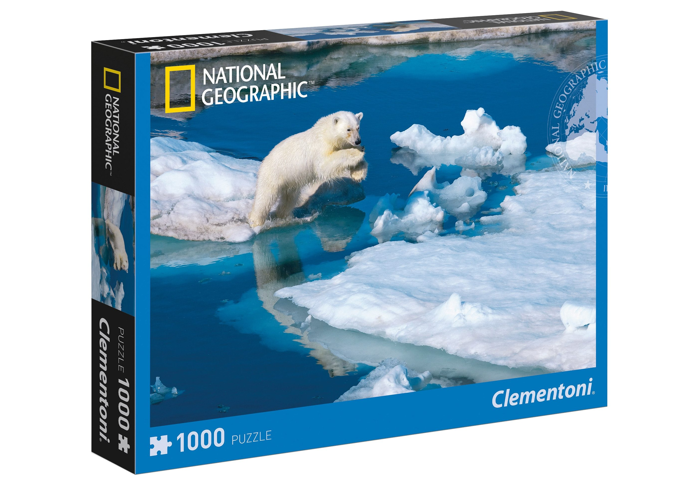 Clementoni Puzzle, 1000 Teile, »National Geographic - Polarbär«
