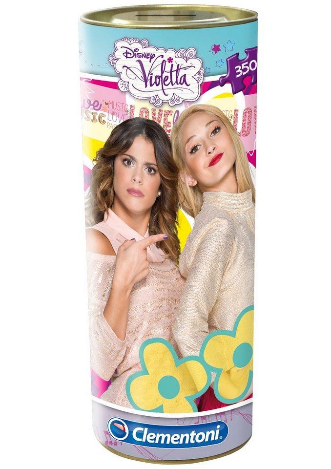Clementoni Puzzle mit Spardose, 350 Teile, »Disney Violetta & Ludmila«