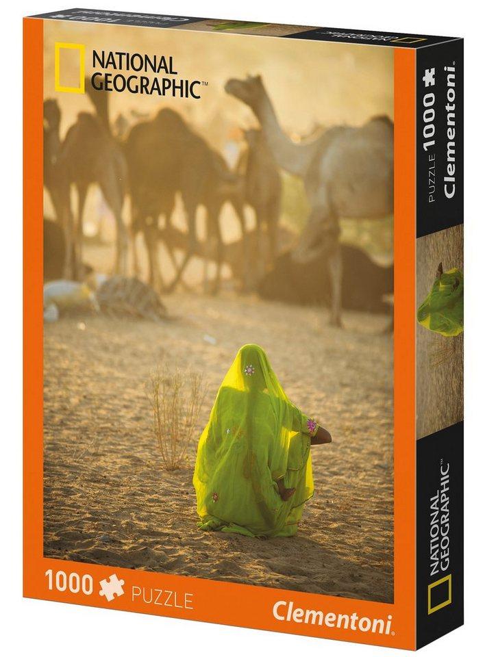 Clementoni Puzzle, 1000 Teile, »National Geographic - Sari«