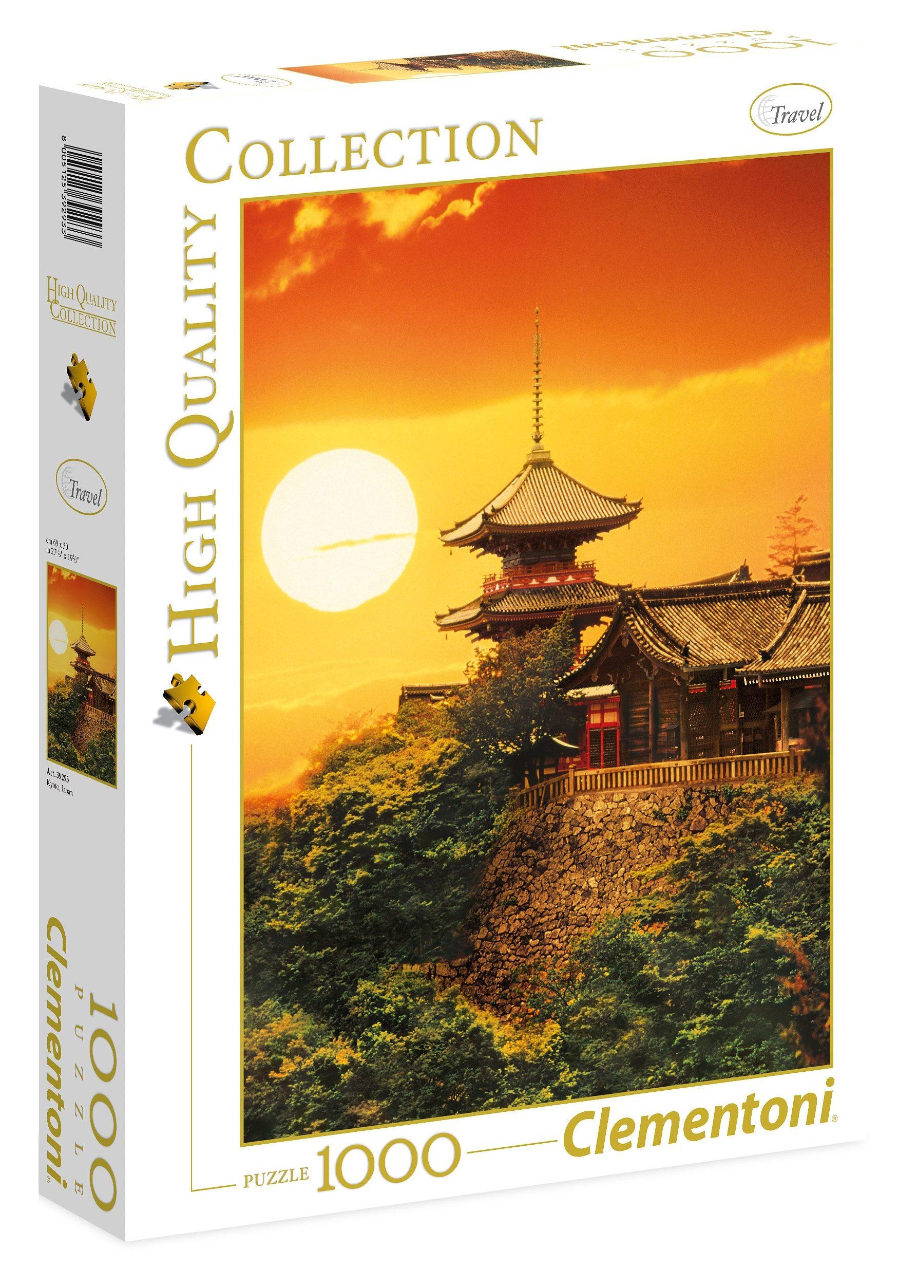Clementoni Puzzle, 1000 Teile, »Kyoto Japan«