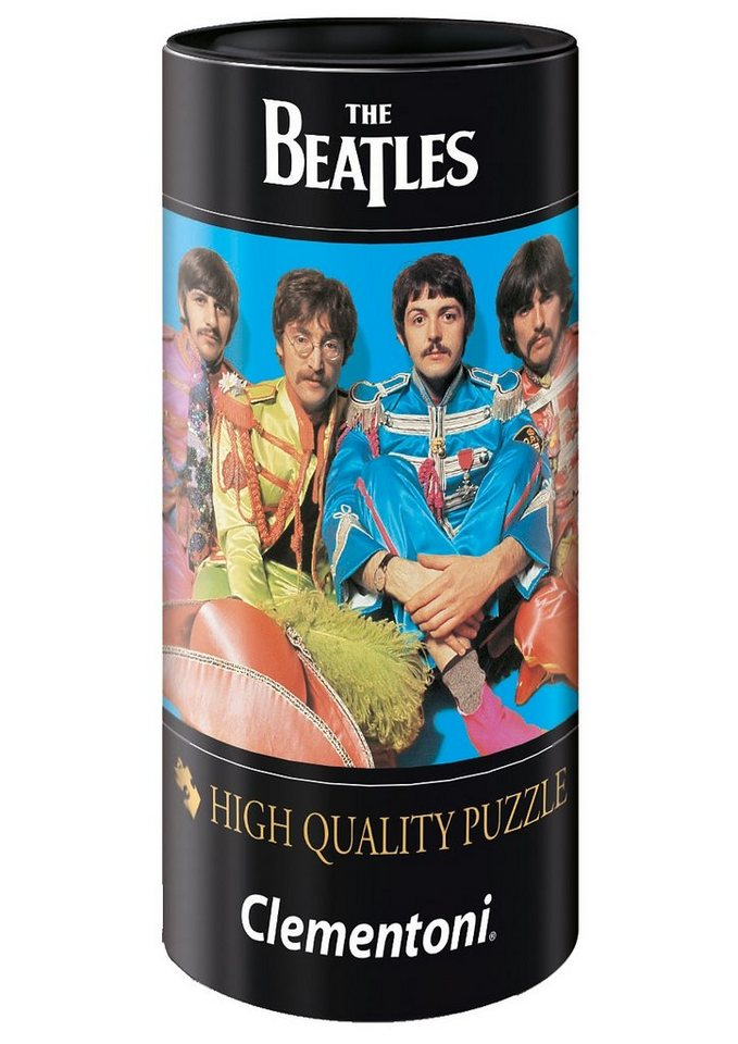 Clementoni Puzzle in Geschenkdose, 500 Teile, »The Beatles, Lucy in the Sky with Diamonds«