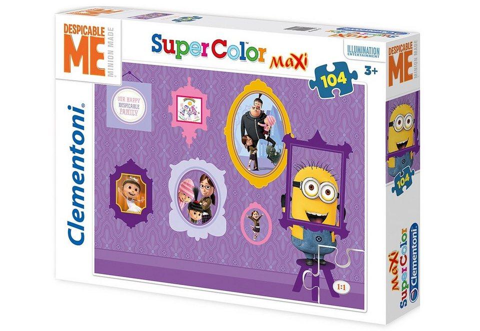 Clementoni Puzzle, 104 Teile, »Despicable Me - Minions«