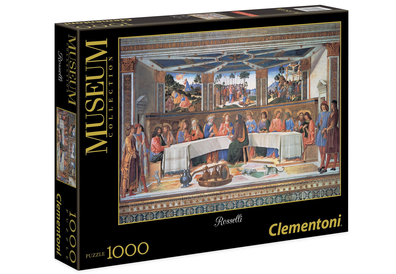 Clementoni Puzzle, 1000 Teile, »Vatican, Rosselli - Das letzte Abendmahl«