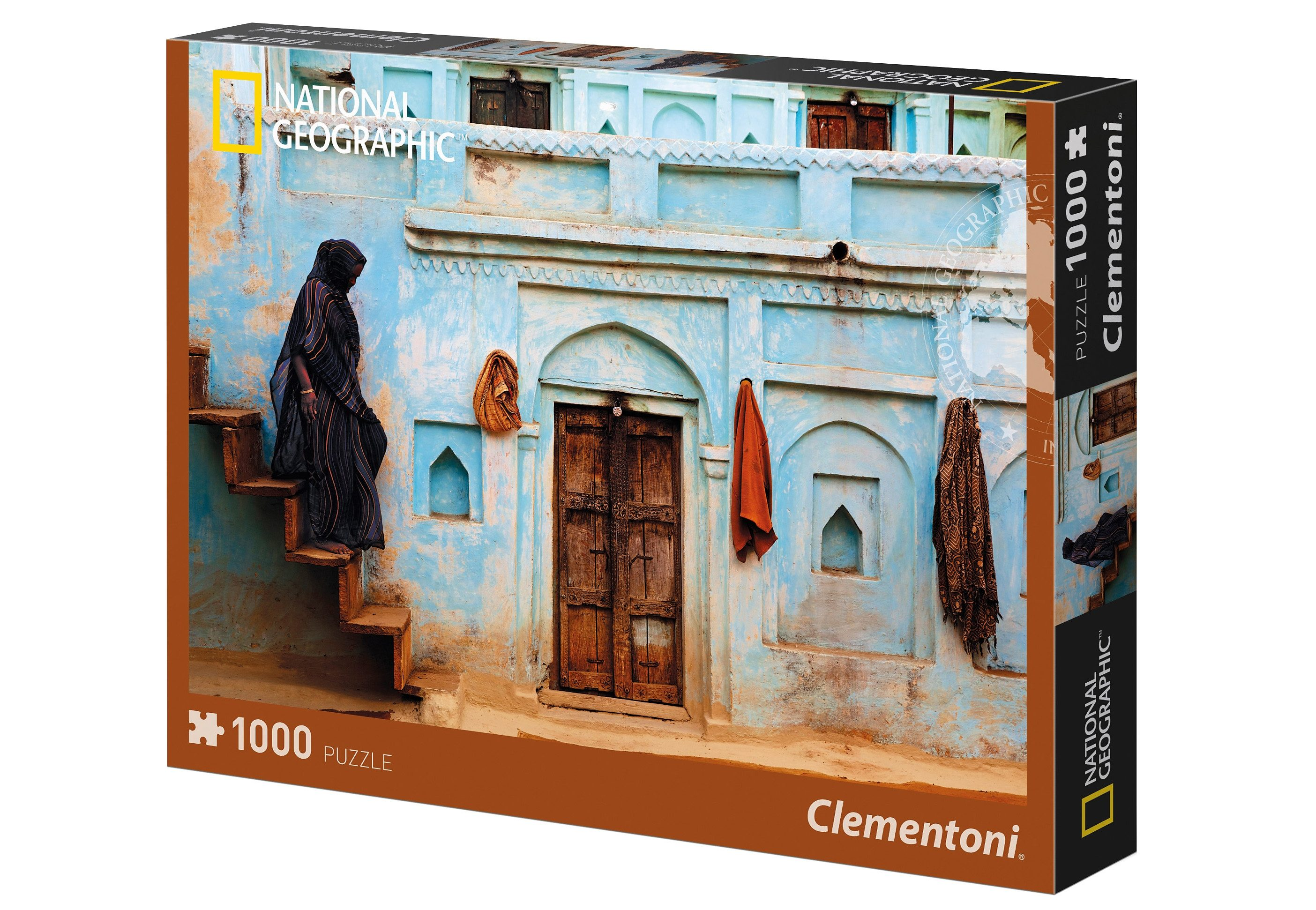 Clementoni Puzzle, 1000 Teile, »National Geographic - Pastell Fassade«