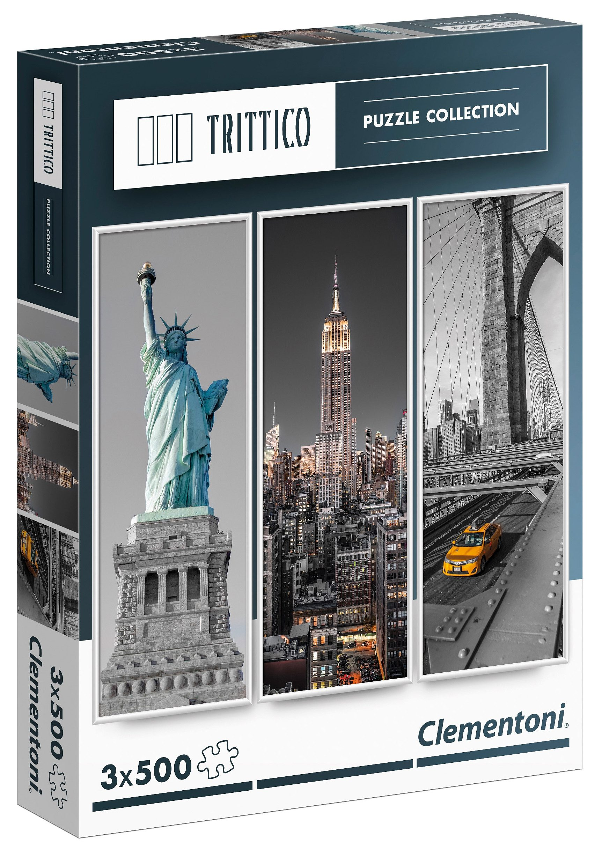 Clementoni Puzzle, 1500 Teile, »Trittico - New York«