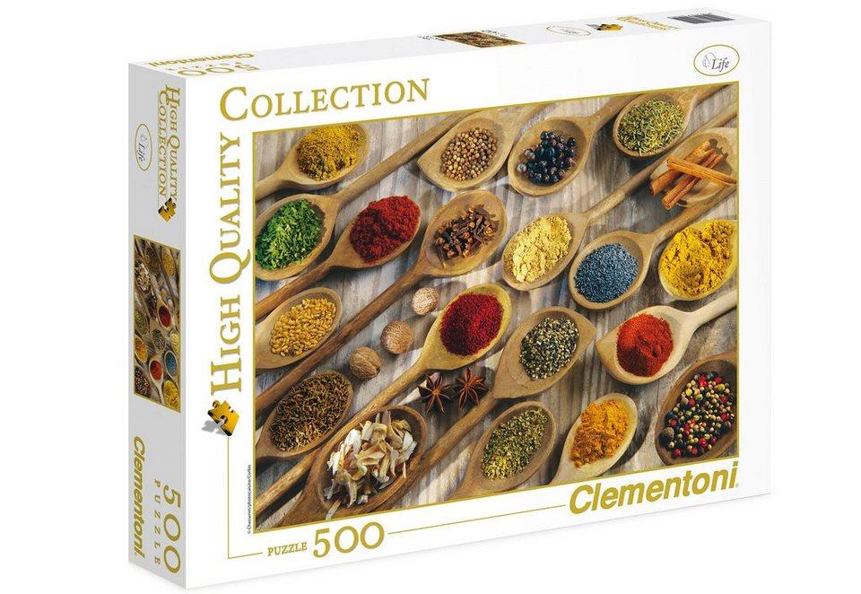 Clementoni Puzzle, 500 Teile, »Gewürze«