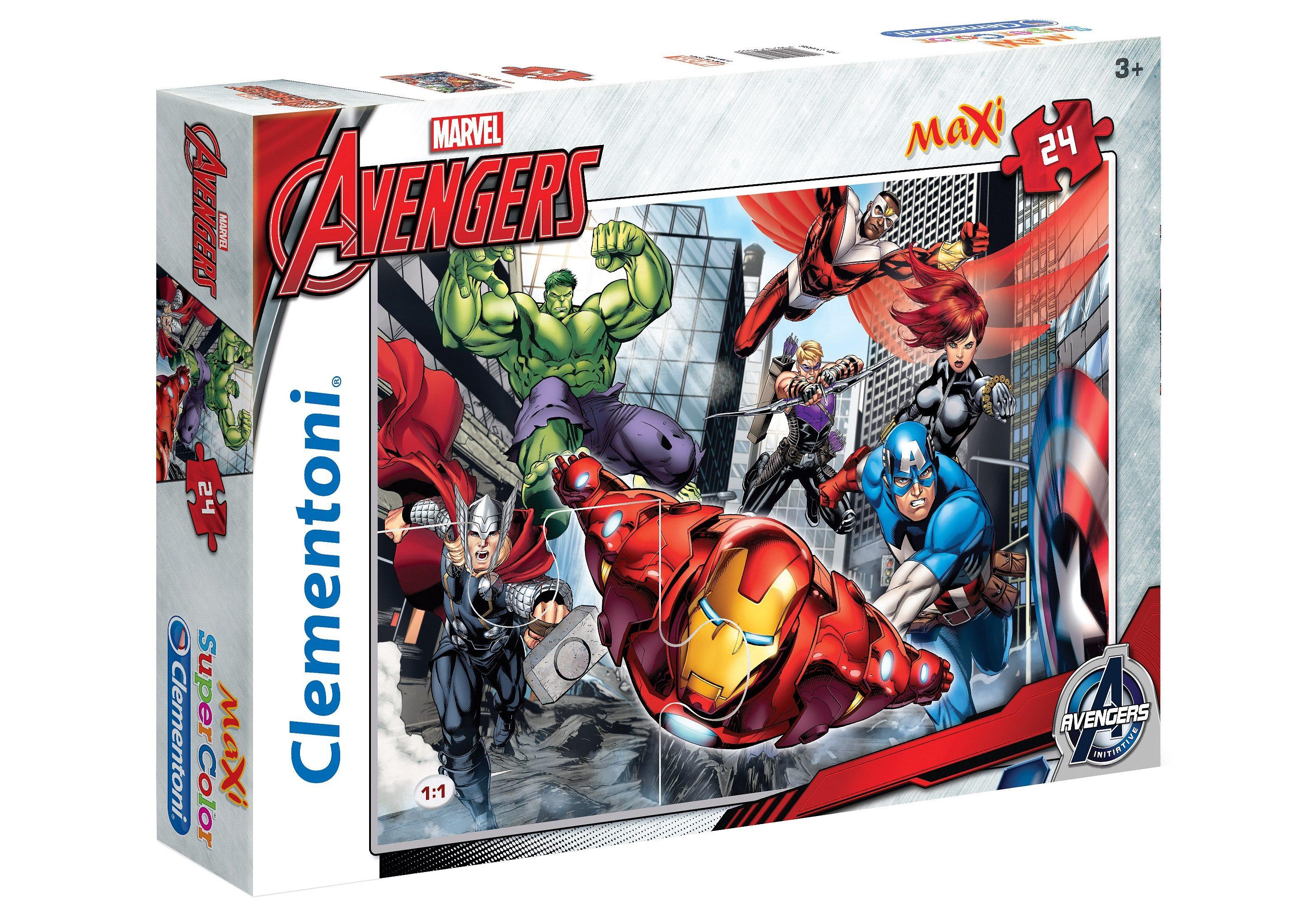 Clementoni Maxi-Puzzle, 24 Teile, »Marvel, Avengers Assemble«