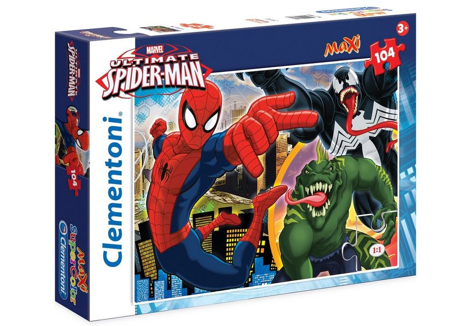 Clementoni Maxi-Puzzle, 104 Teile, »Marvel, Web Shooter Ultimate Spiderman«