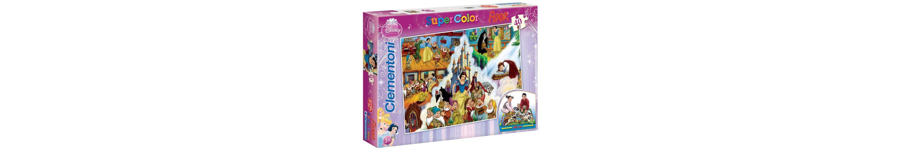 Clementoni Bodenpuzzle, 40 Teile, »Disney Princess, Schneewittchen, Das Märchen«