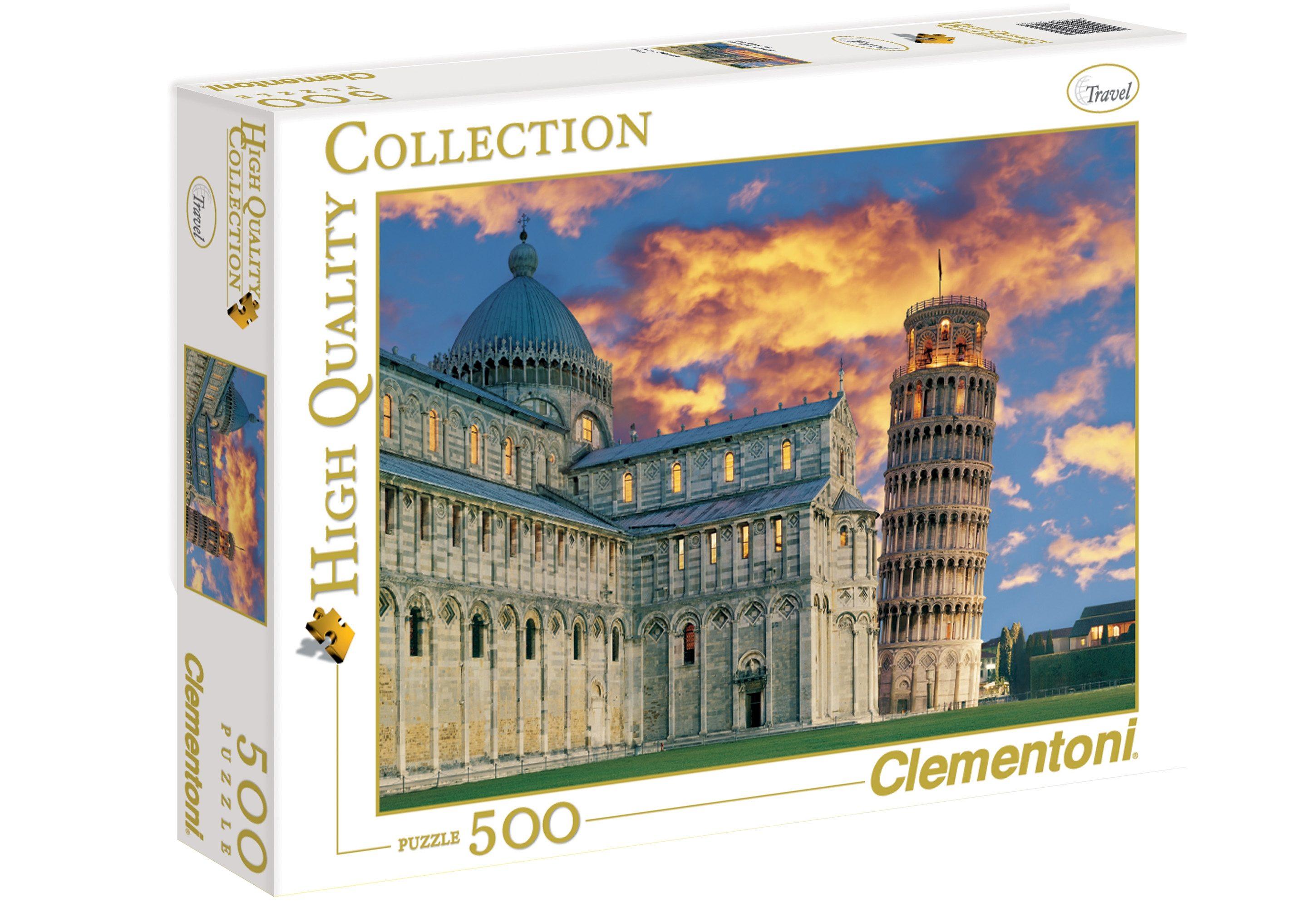 Clementoni Puzzle, 500 Teile, »Pisa«