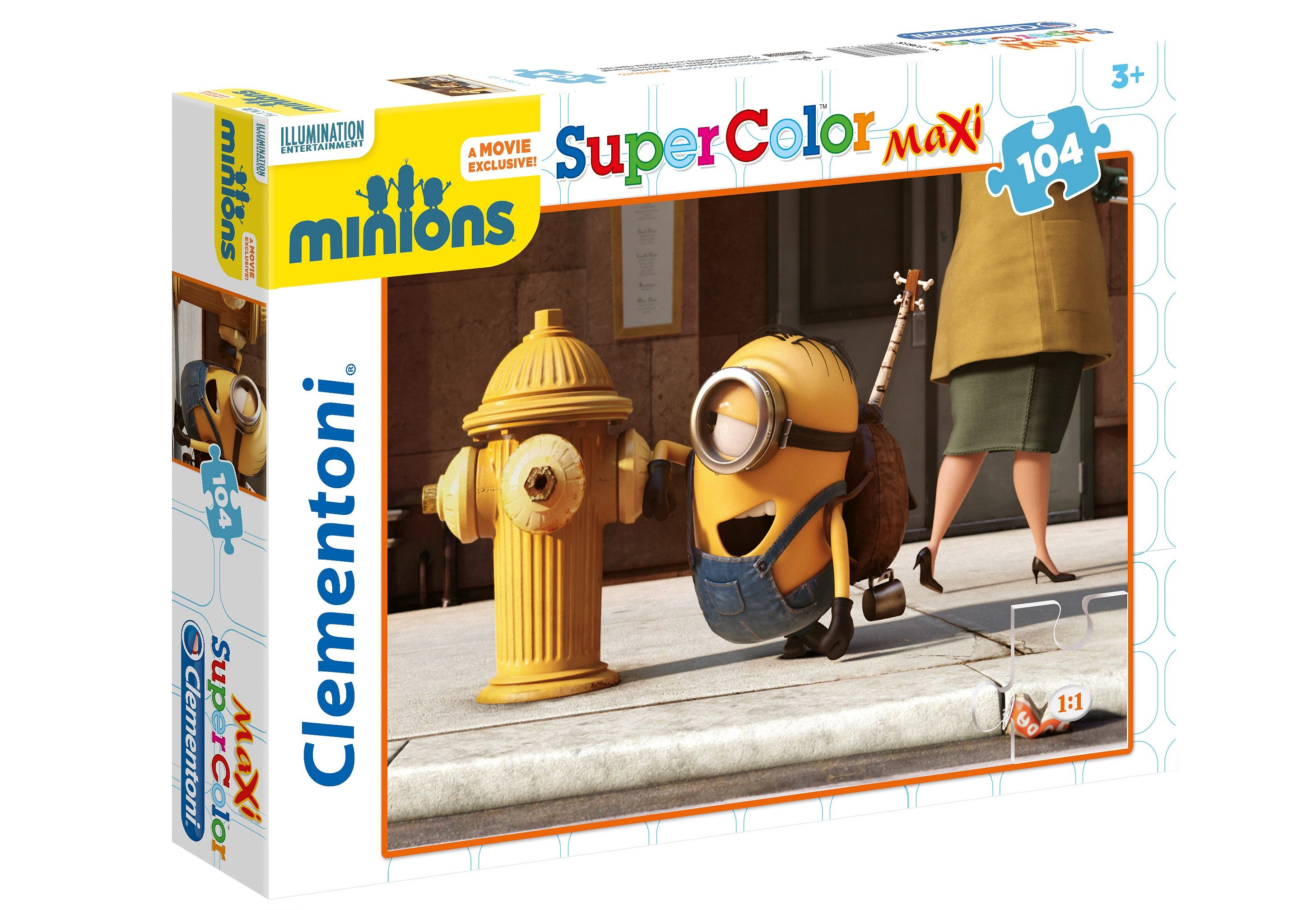 Clementoni Maxi-Puzzle, 104 Teile, »Illumination Entertainment, Minions«