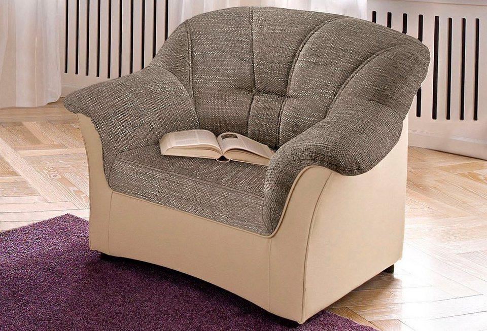 Einzelsessel braun  Sessel, wahlweise mit Federkern online kaufen | OTTO
