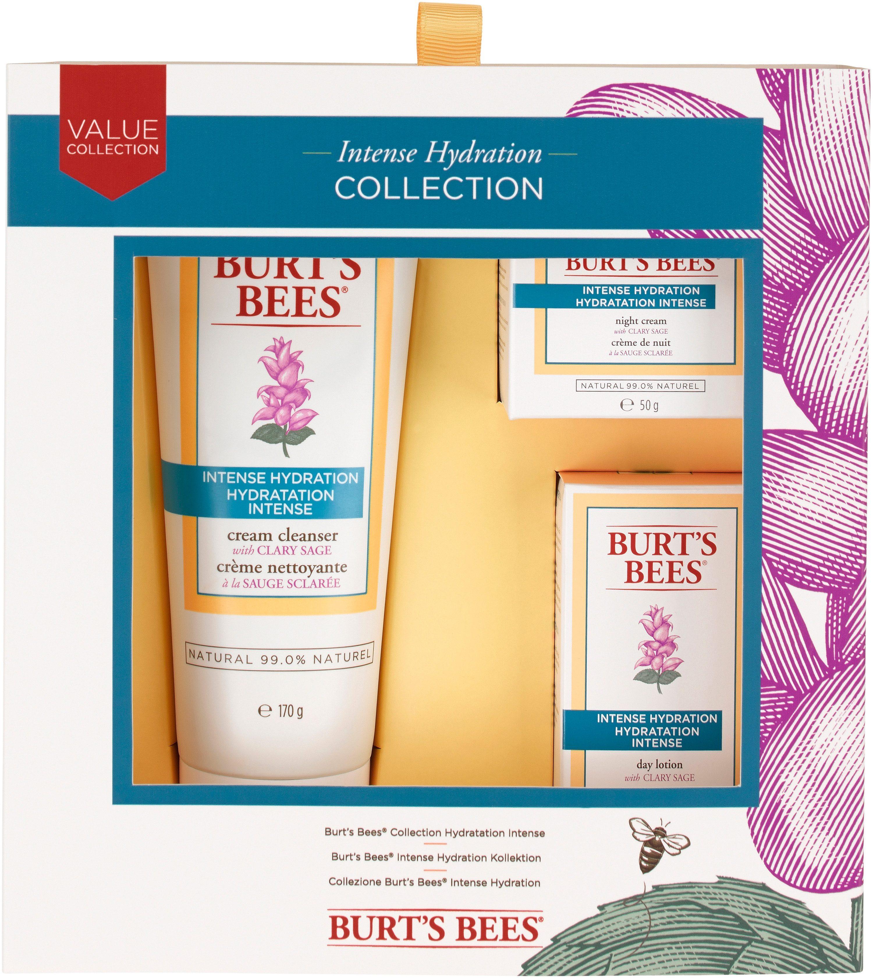 Burt´s Bees, »Intense Hydration«, Promo-Box & Kennenlernset (3-tlg.)