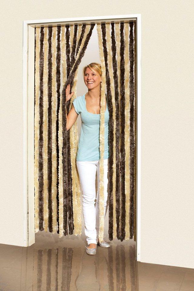 Flauschvorhang »Insektenschutz-Flauschvorhang (braun/beige)«
