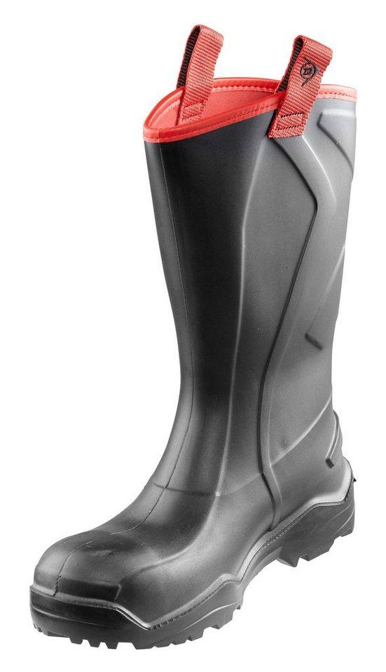 Dunlop Sicherheitsstiefel »Purofort+ Rugged S5« in schwarz