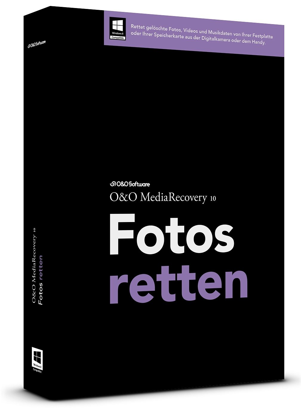 O&O Software Wiederherstellungssoftware »MediaRecovery 10 Professional Edition Box«