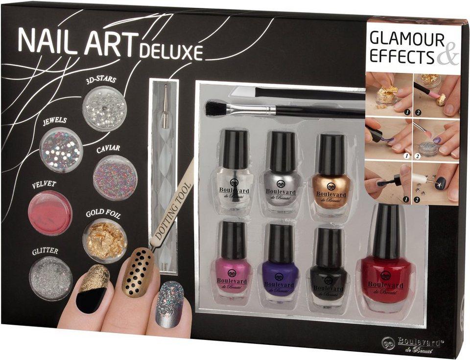 »Nail Art Deluxe«, Nagellack-Set